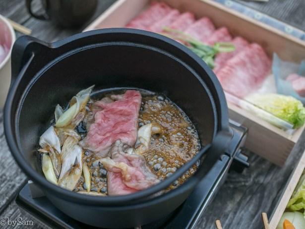 Sukiyaki Okura at Home Japans gerecht voor thuis afhaal