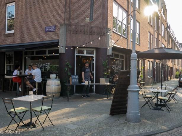 Wijnbar Paskamer Amsterdam de Pijp