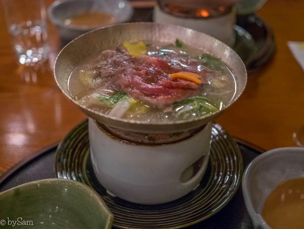 Shabu shabu Yamazato restaurant Okura Hotel Amsterdam