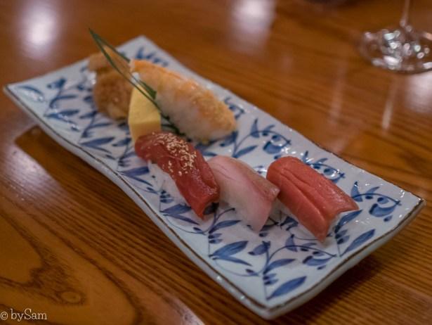 Sushi eten in Amsterdam Yamazato Michelin