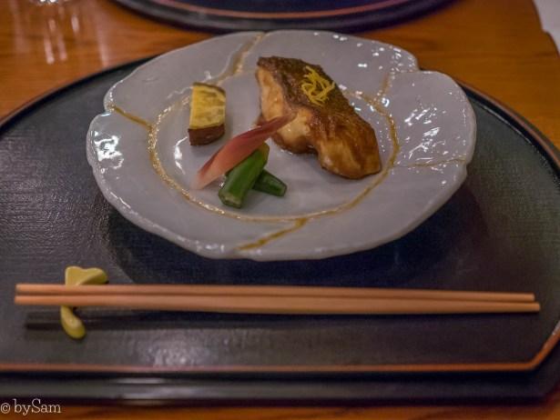 Japans restaurant Okura Hotel Yamazato Michelinster