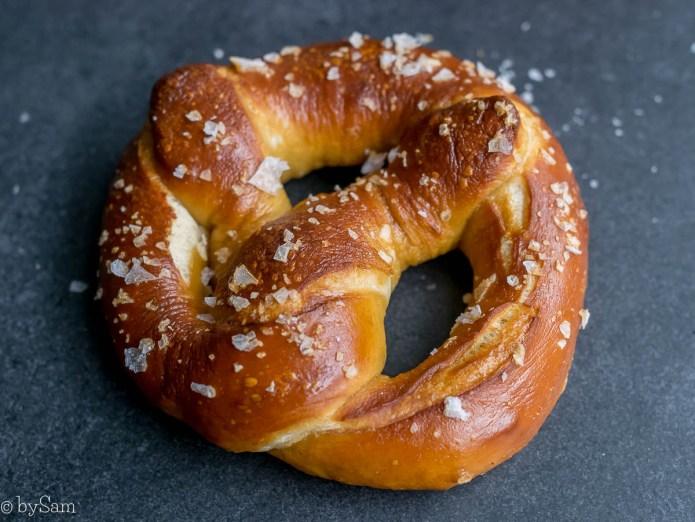 Recept zachte pretzels bakken