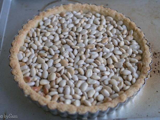 Blind bakken taartvorm