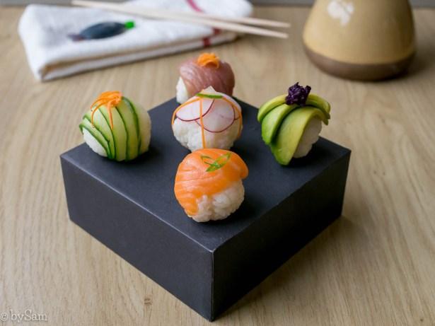 Temari sushi balletjes recept zelf maken Japans koken