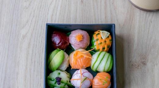 Temari sushi zijn kleurrijke sushiballetjes en zo maak je ze zelf
