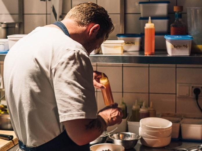 Restaurant Le Coeur Amsterdam Rick Swinkels chef eigenaar