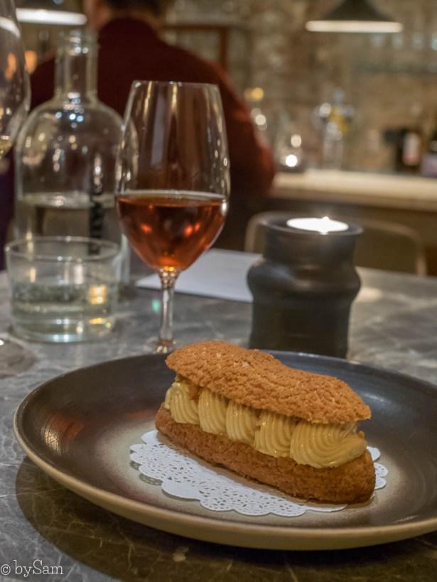 Eclair foie gras restaurant Le Coeur Amsterdam