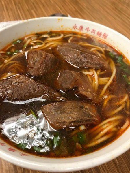 Yongkan Beef Noodles in Taipei