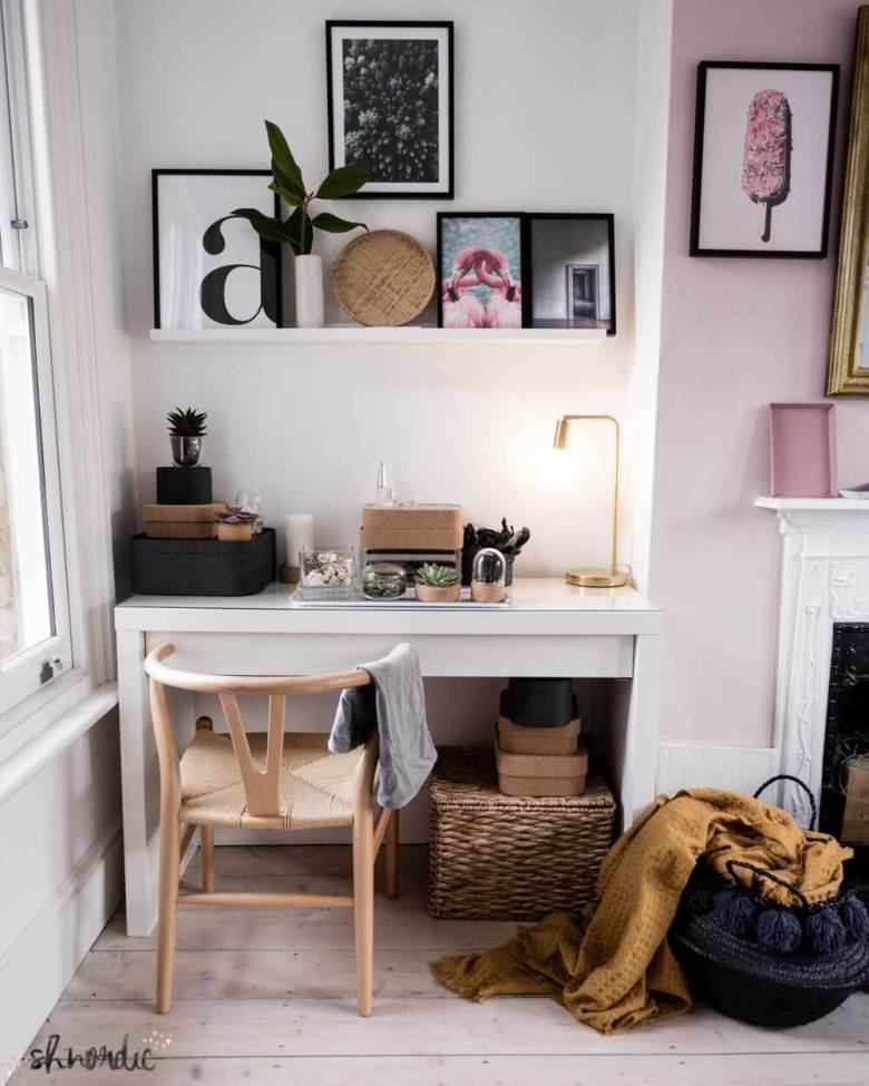 styled desk