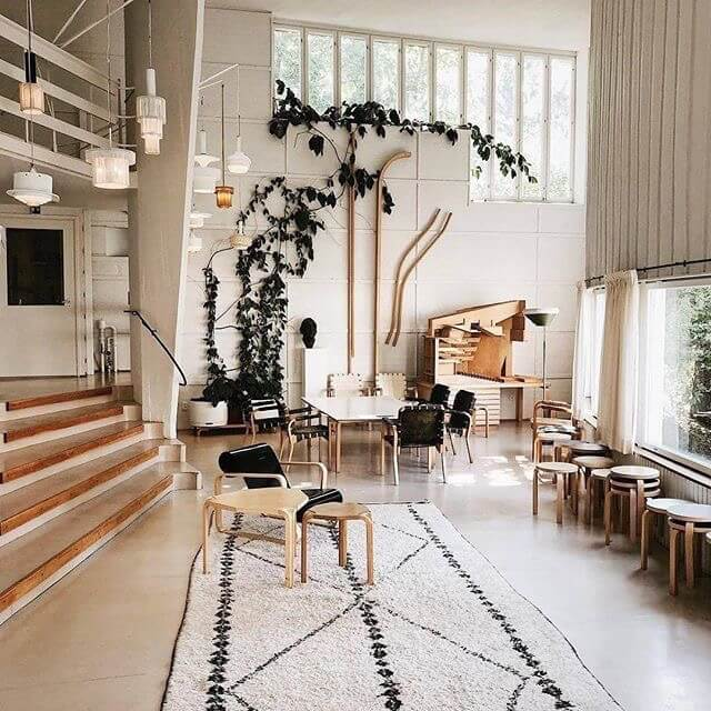 light and airy home