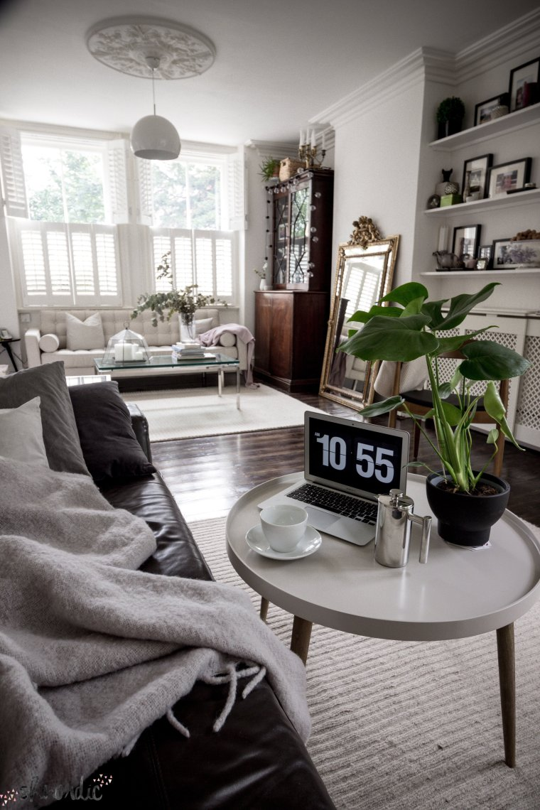 In my living room - How to decorate long and narrow rooms