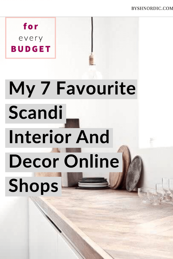 the best scandi decor shops