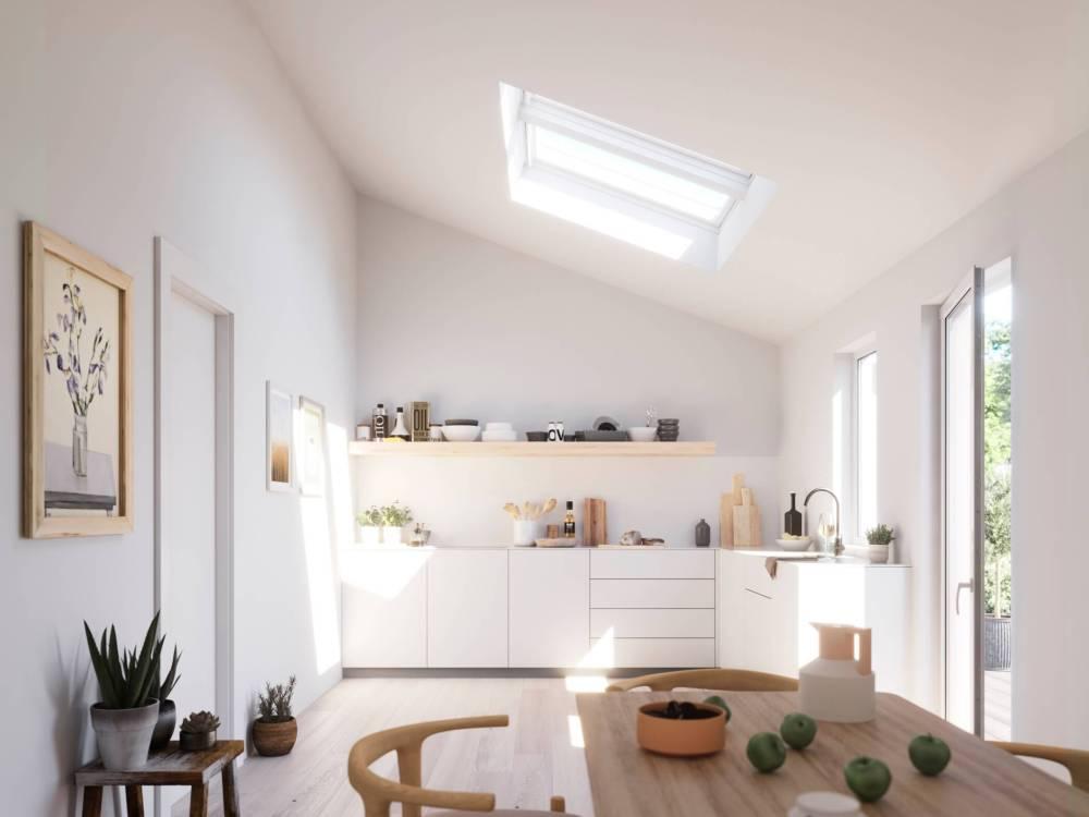 light kitchen diner