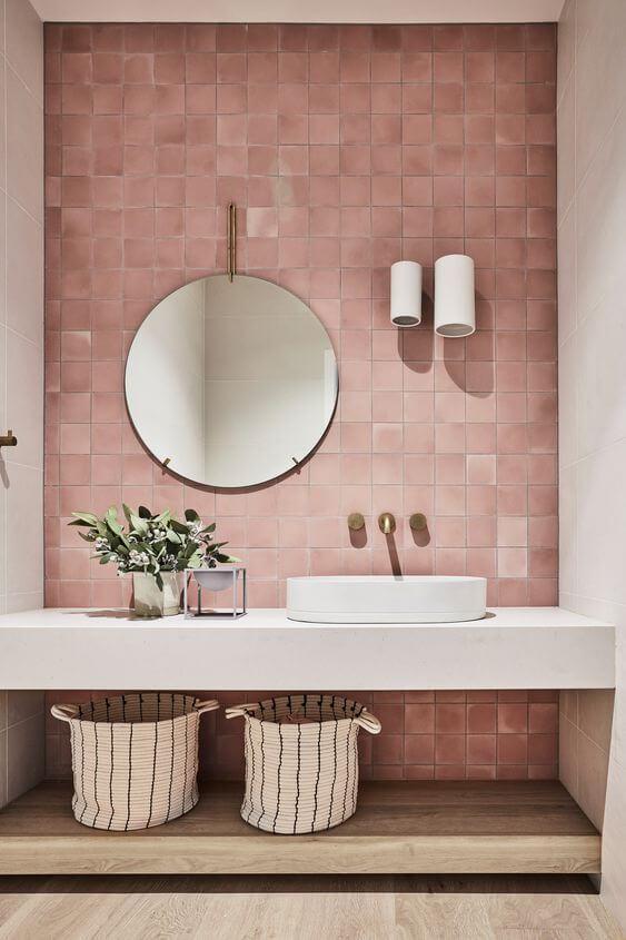 lighting plan for a bathroom