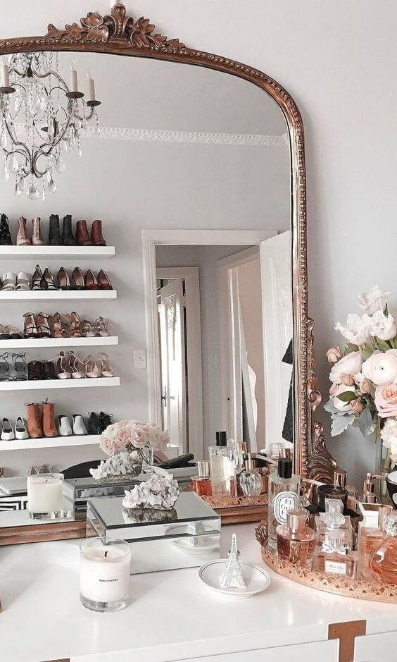 dressing table setting