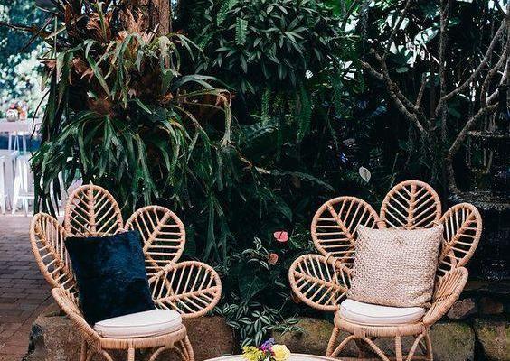 beautiful garden seating