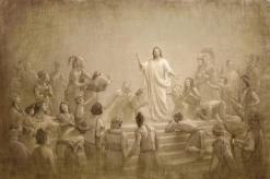 Christ in America, by Joseph Brickey