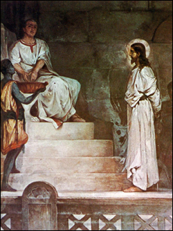 Pilate Washes His Hands, Unknown