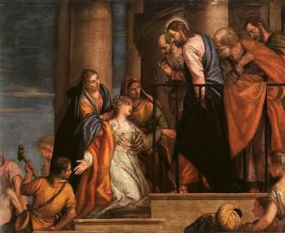 Paolo Veronese - Christ and the Woman with the Issue of Blood