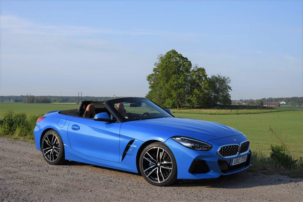 Test BMW Z4 Cabriolet – Roadster, hetaste cabben just nu!