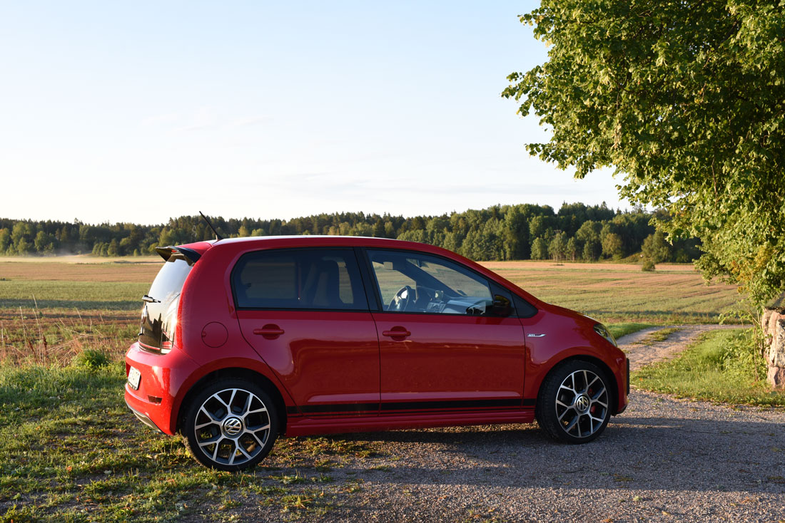 Test av: Volkswagen Up! GTI, en superkompakt citybil!