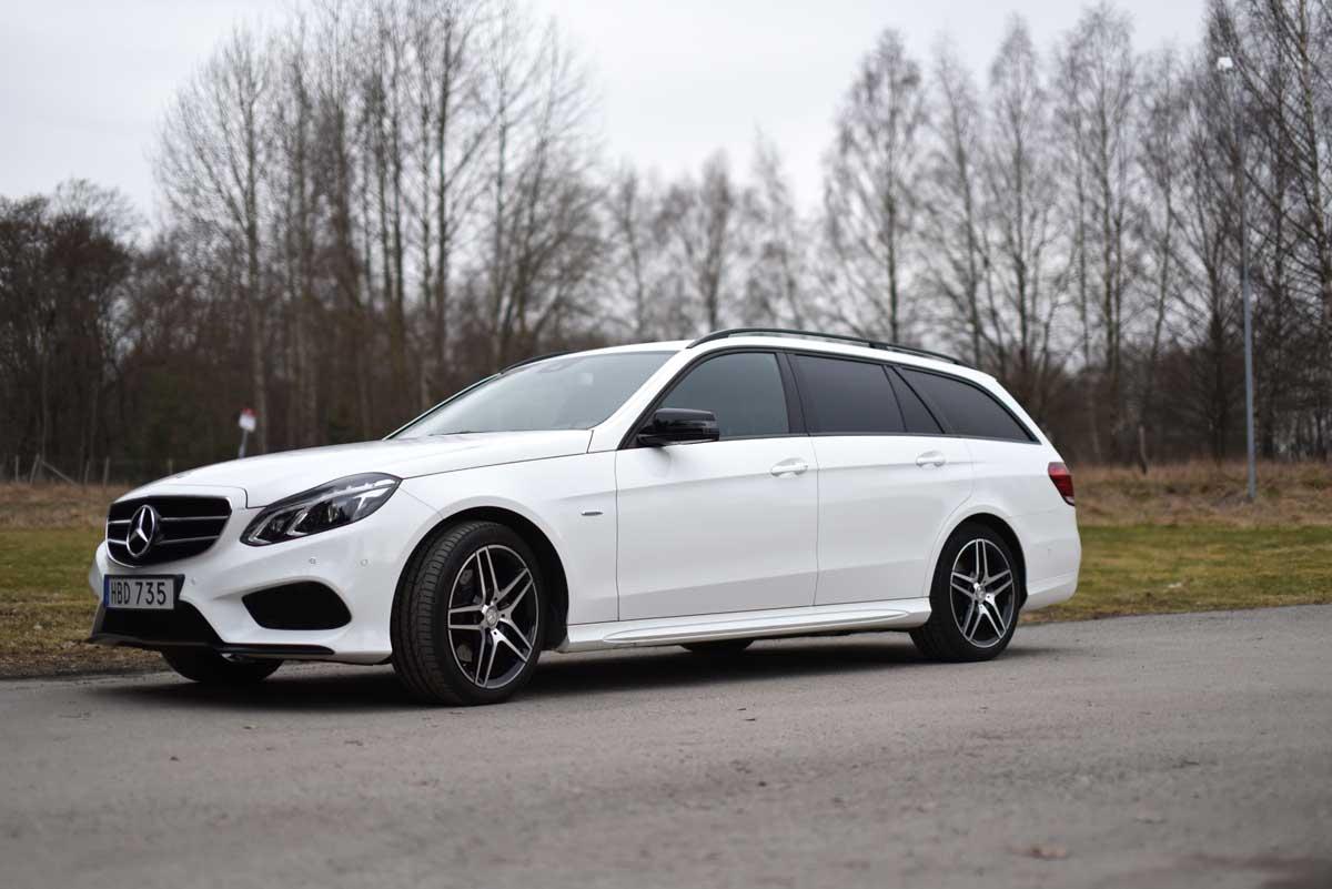 Test Mercedes E klass kombi 220d - Kombidrömmen är verklig!