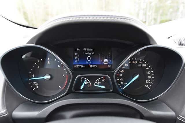 Ford Kuga 2017 speed instrumentpanel k