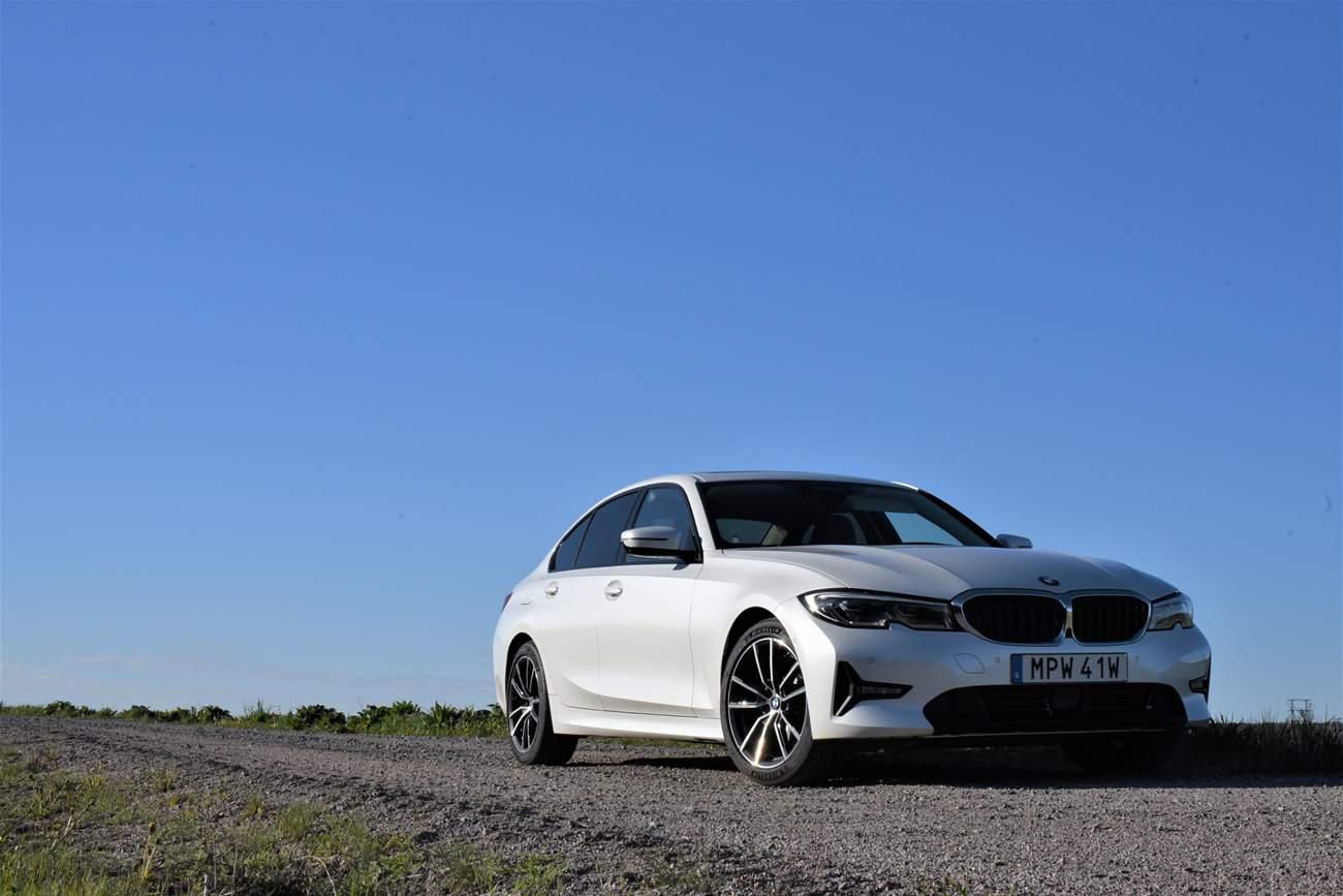 Test BMW 320d sedan – Nya BMW 3-serie 2019