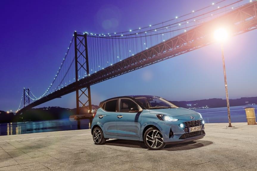Nya Hyundai i10 på gång – Nyheterna för i10