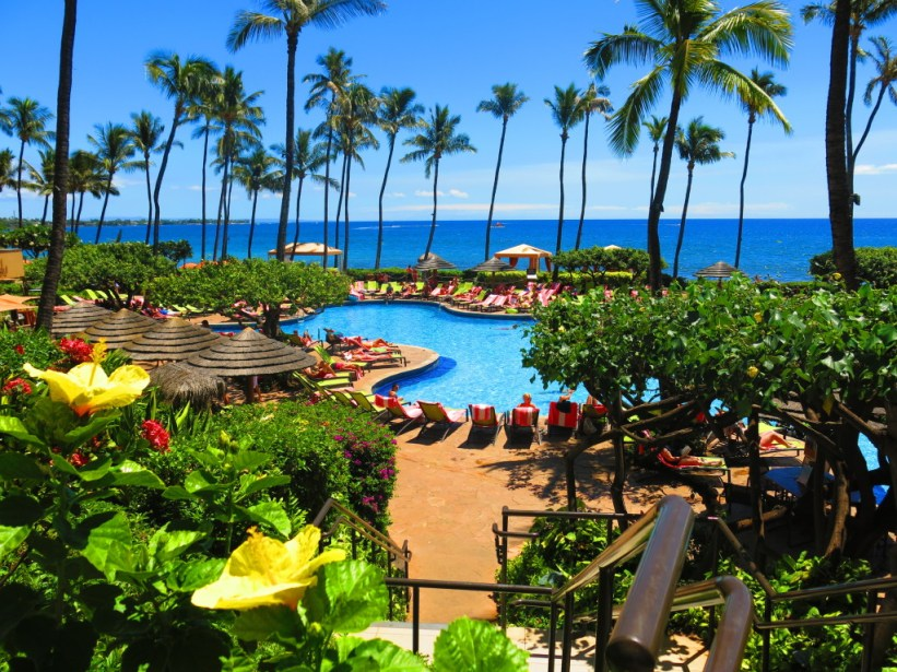 You could be here! It's the Hyatt Regency Maui, if you want to book. No seriously, think about it...