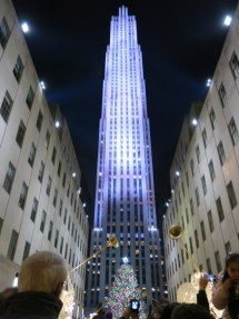 Rockefeller Center in all its holiday glory