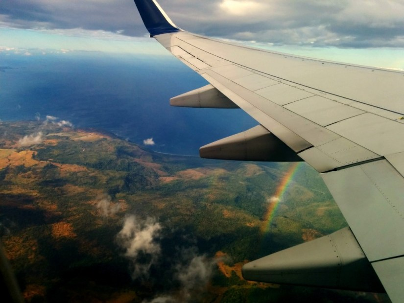 Rainbow over Costa Rica