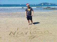 Christmas at the beach!