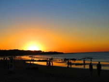 Sunset on Playa Tamarindo