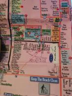 Map of Tamarindo with lots of details from Trish