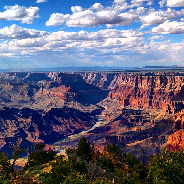 The beautiful Grand Canyon.