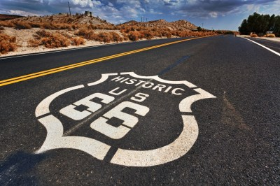 Historic Route 66 by Randy Heinitz.