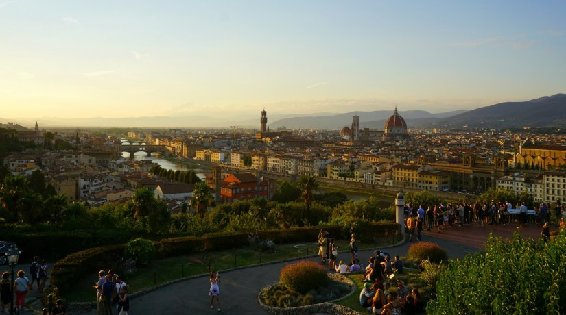 View from Piazzale Michelangelo.