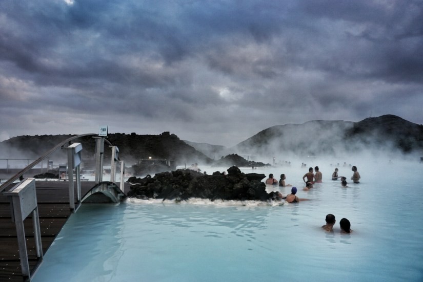 The Blue Lagoon.