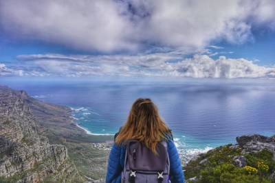 View from Table Mountain, South Africa