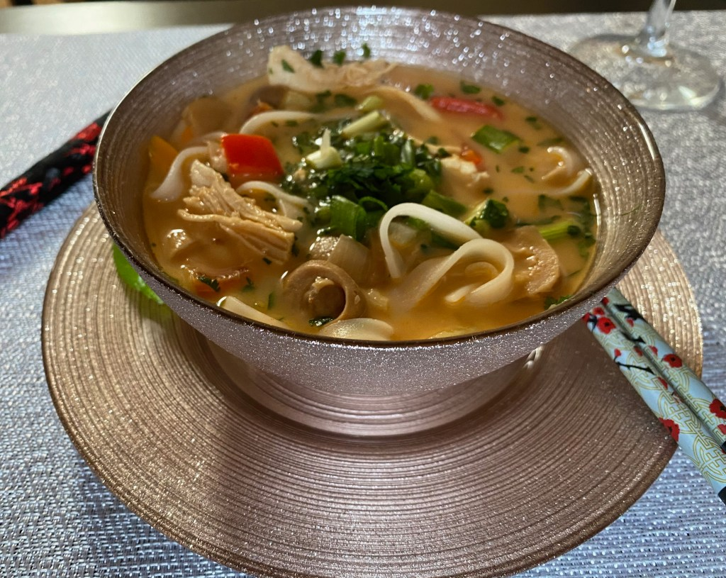 Tom Kha Gai Coconut Chicken Soup