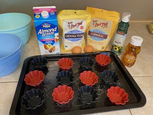 Organic Cornbread Muffin ingredients