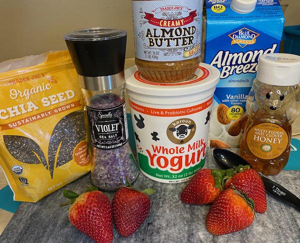 Strawberry Almond Power Smoothie