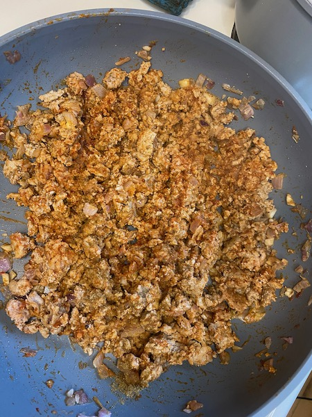 Spicy Taco Turkey Meat