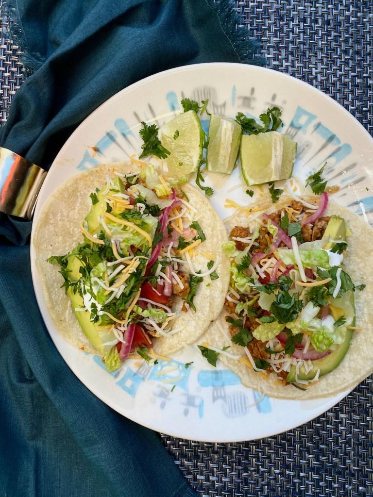 Loaded Turkey Tacos
