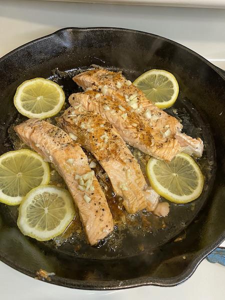 Honey Garlic Salmon Filets