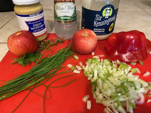 Fall Chicken Salad Ingredients