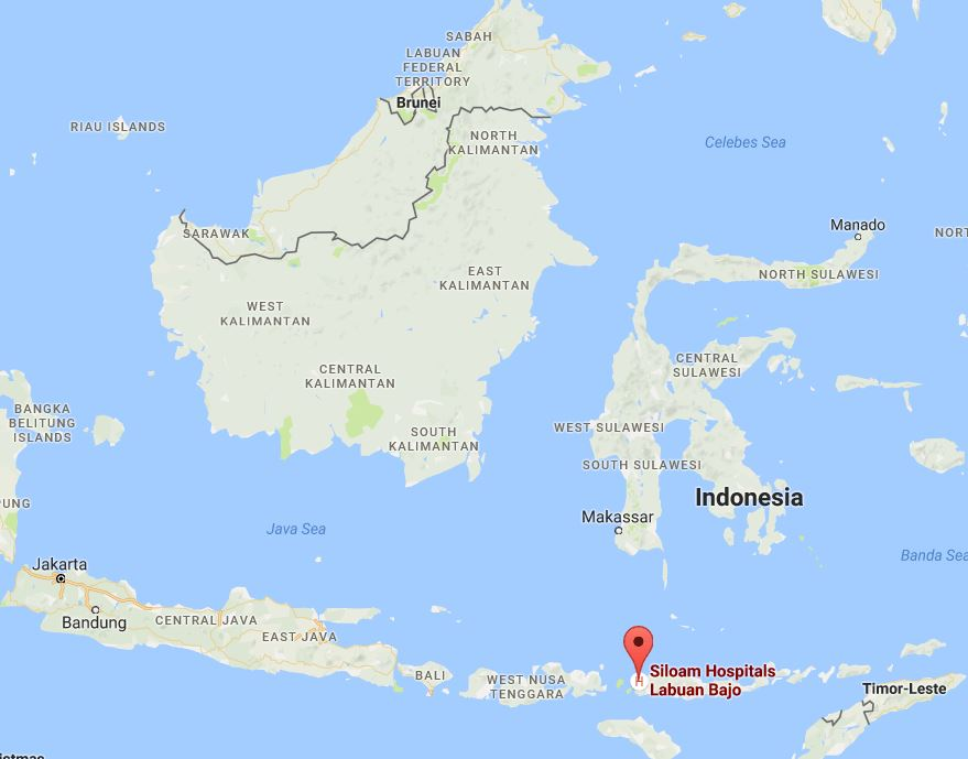 Siloam Hospital Labuan Bajo -Map, first reit, acquire