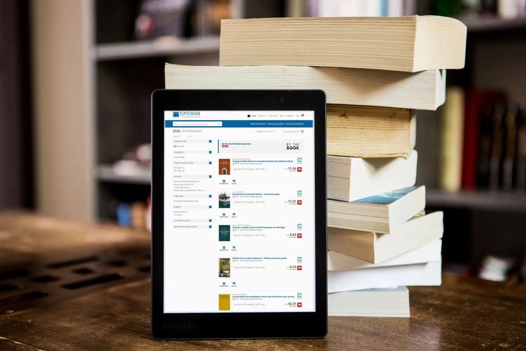 Livros By the Book na plataforma Torrossa