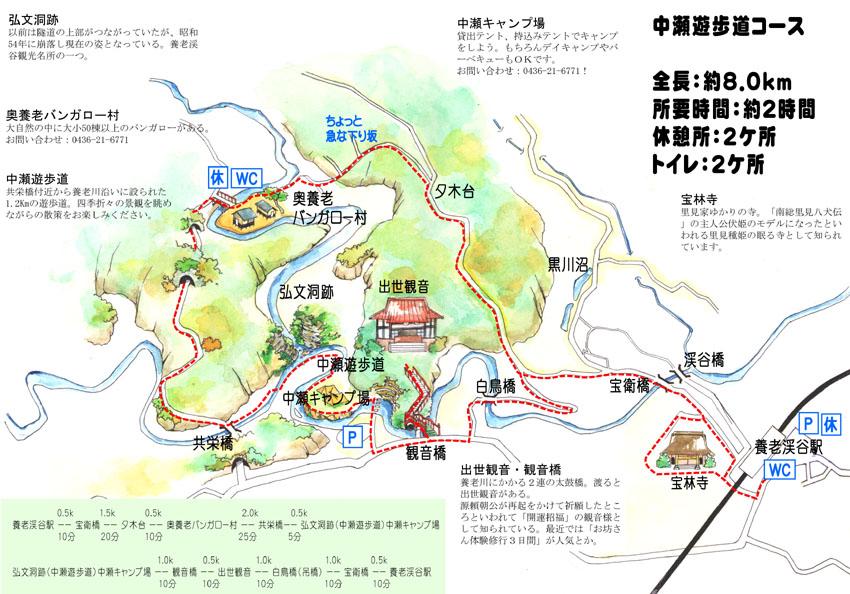 宝永橋ハイキングコース